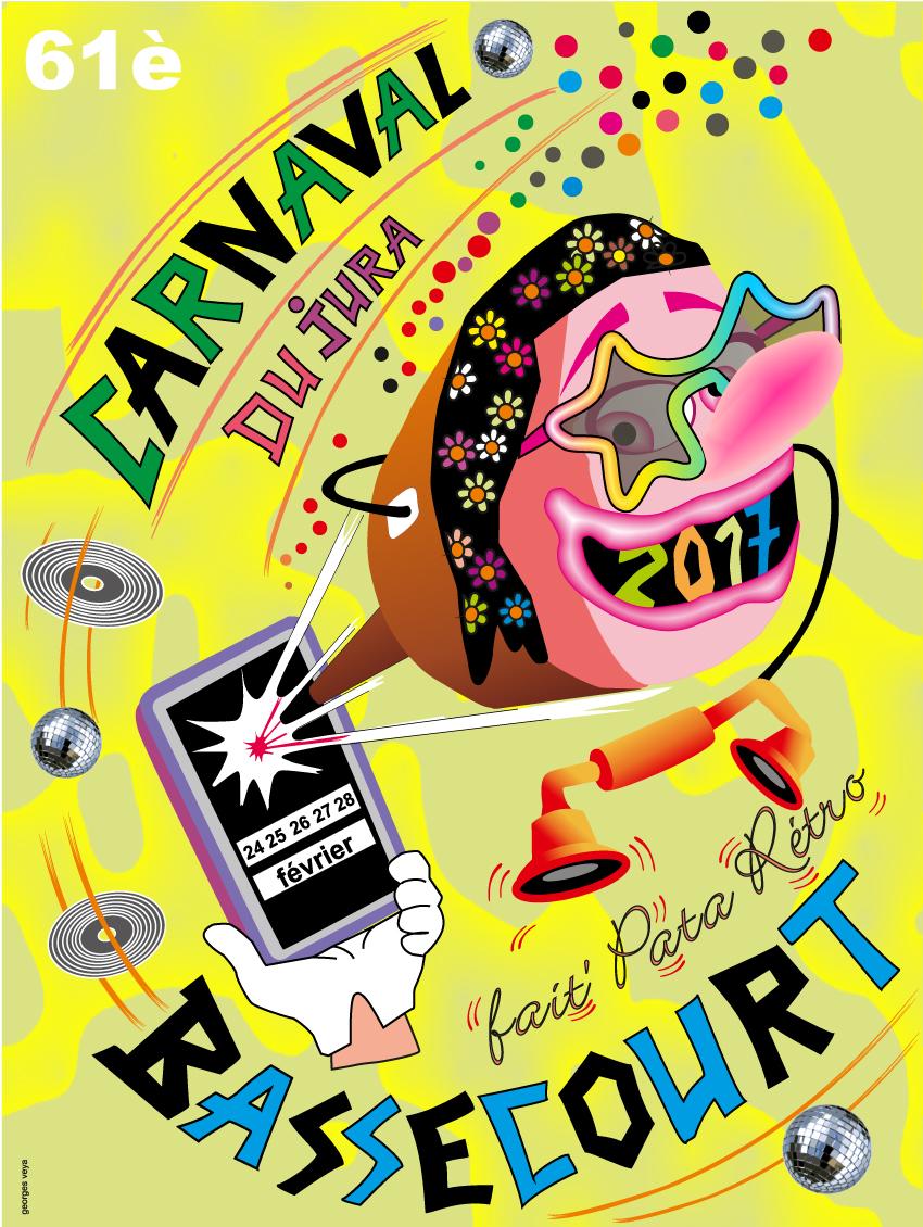 Carnaval du Jura fait'Pata Rétro